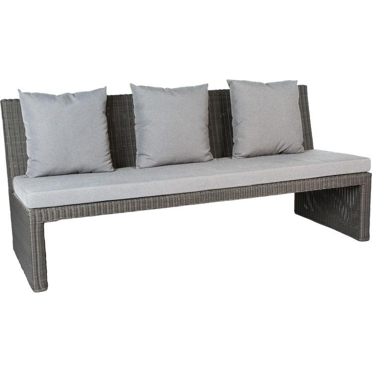 gartenbank noel 3 sitzer stern. Black Bedroom Furniture Sets. Home Design Ideas