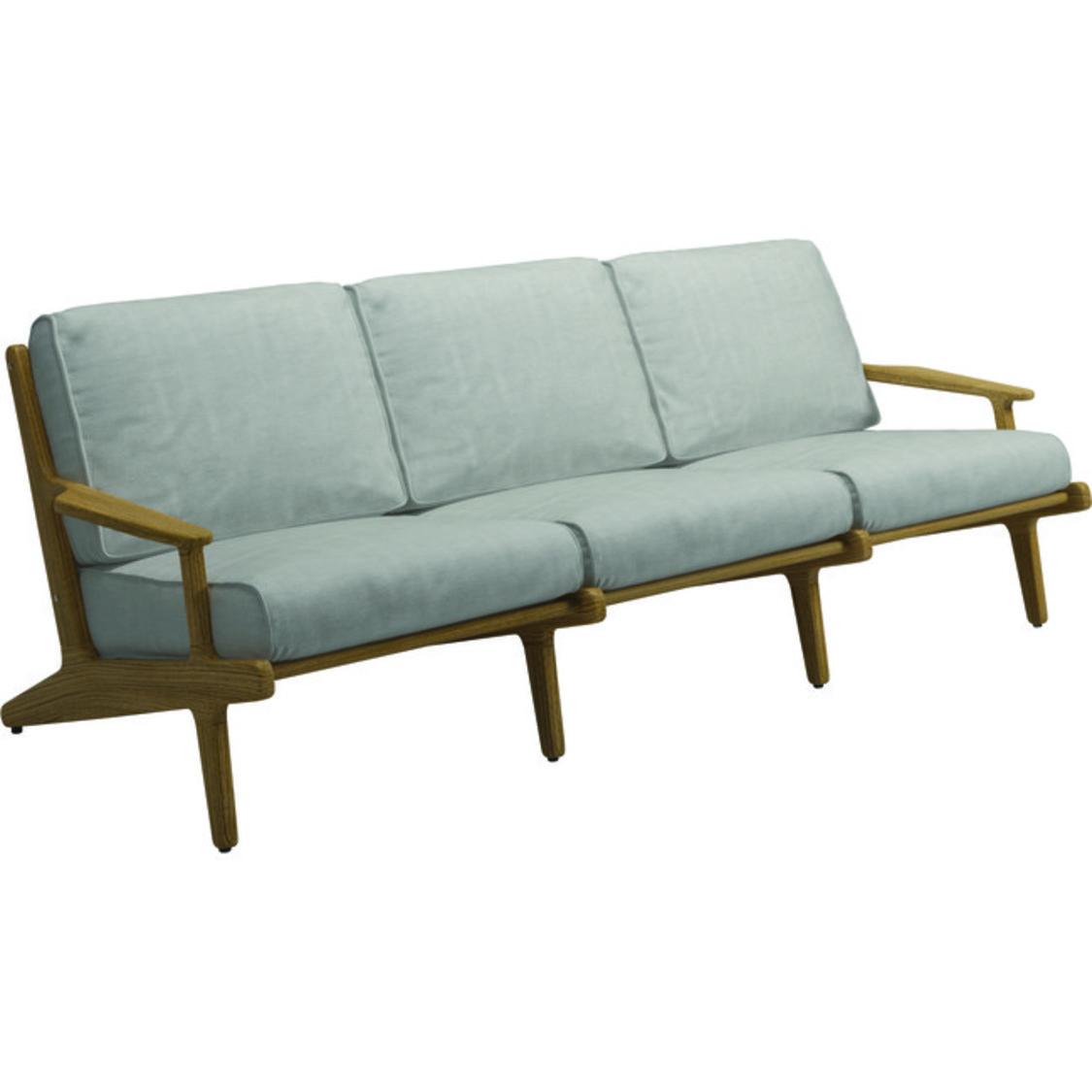 Garten Lounge Sofa Bay Gloster 3 Sitzer Hauptstadtmoebelde