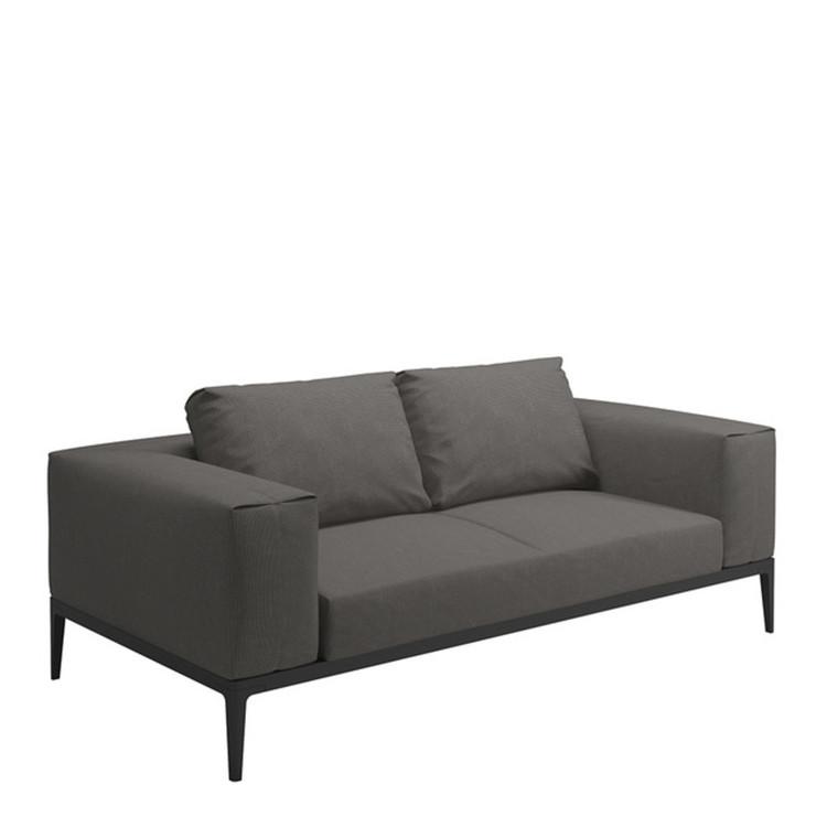 Garten lounge sofa gloster grid - Garten couch lounge ...