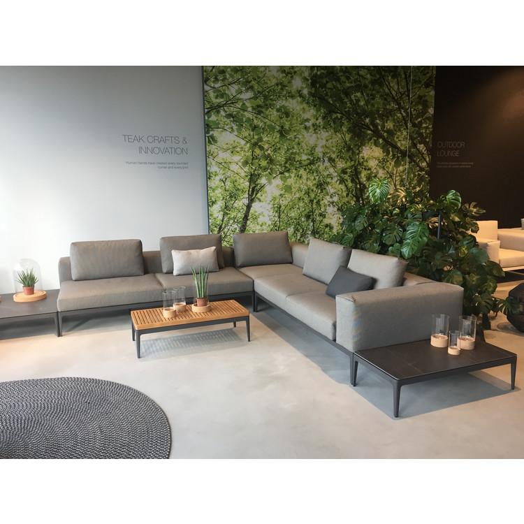 garten lounge sofa gloster grid. Black Bedroom Furniture Sets. Home Design Ideas