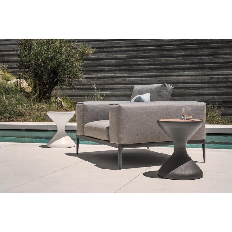 Garten lounge sessel grid gloster for Lounge sessel garten