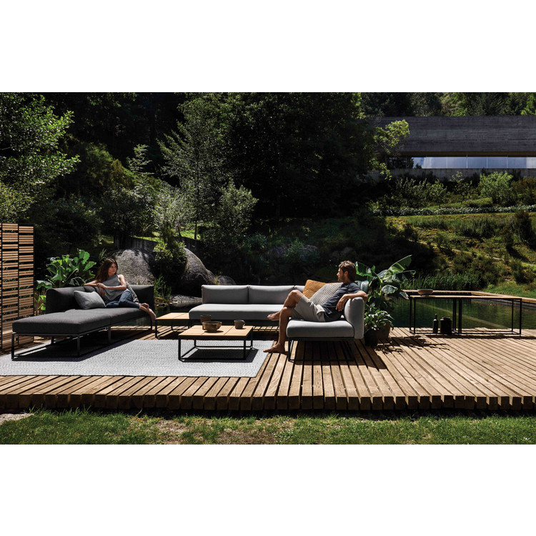 Outdoor Lounge Eckelement Maya, Gloster