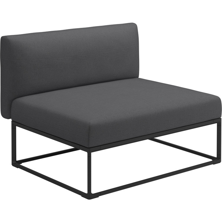 Outdoor Lounge Maya Mittelelement 100, Gloster
