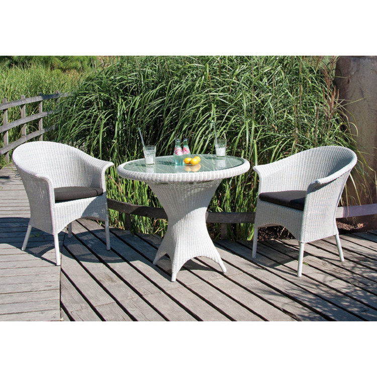 Gartensessel Geflecht Cayman white washed