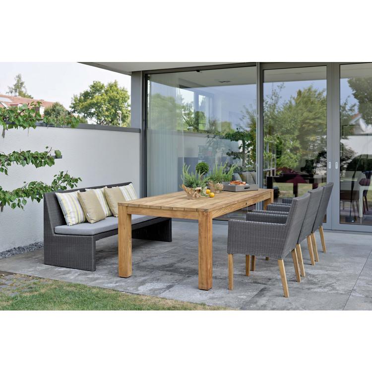 garten sitzgruppe pep noel old teak stern. Black Bedroom Furniture Sets. Home Design Ideas