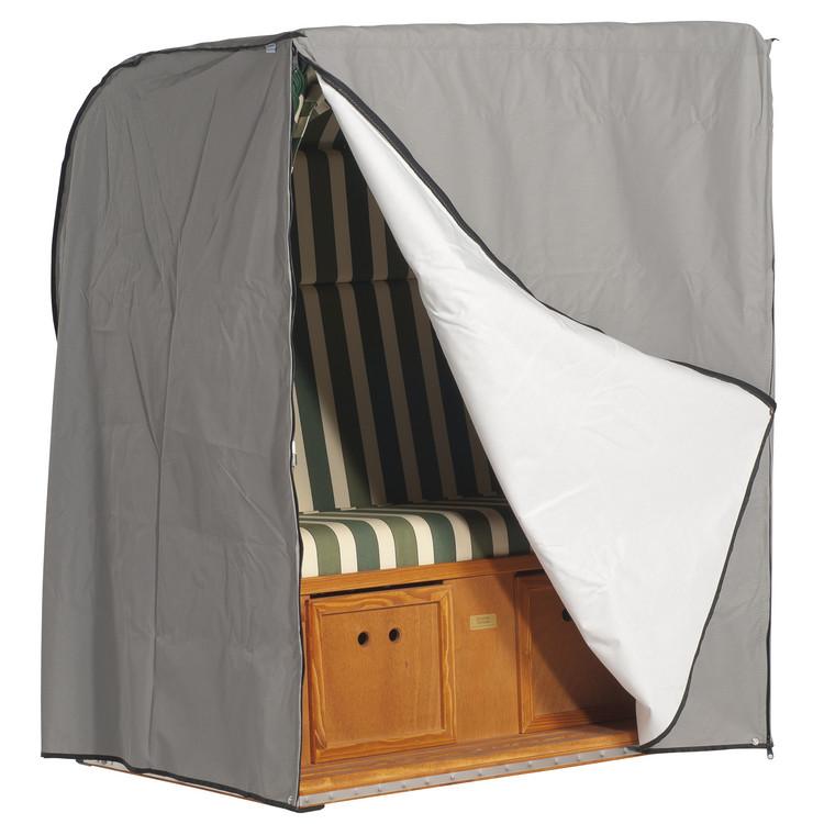 schutzh lle f r strandkorb 2 sitzer xl diplomat. Black Bedroom Furniture Sets. Home Design Ideas