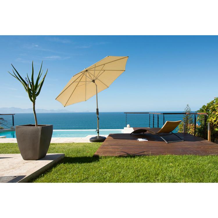sonnenschirm alu twist mit kurbel stoffklasse 5. Black Bedroom Furniture Sets. Home Design Ideas