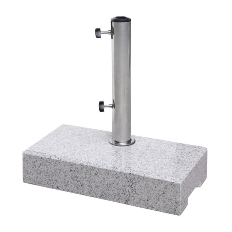 sonnenschirmst nder granit f r balkon ca 25 kg. Black Bedroom Furniture Sets. Home Design Ideas