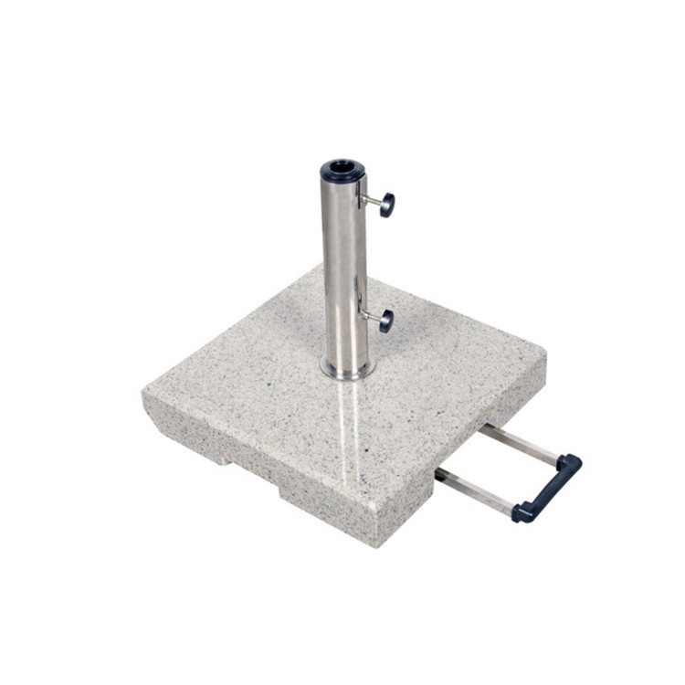 sonnenschirmst nder granit fahrbar 50 kg. Black Bedroom Furniture Sets. Home Design Ideas