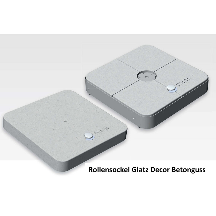 Rollensockel Glatz Decor Betonguss