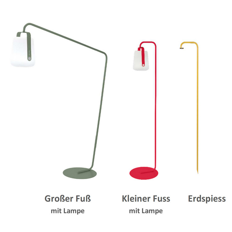 Outdoor Stehlampe/ Standfuß Balad Fermob
