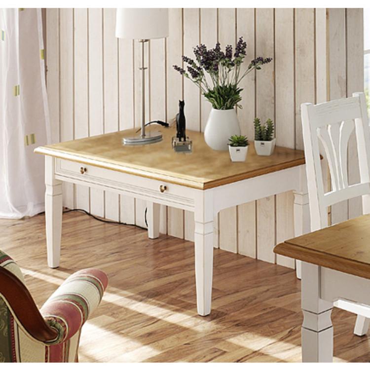 couchtisch landhaus victoria 70x70cm. Black Bedroom Furniture Sets. Home Design Ideas