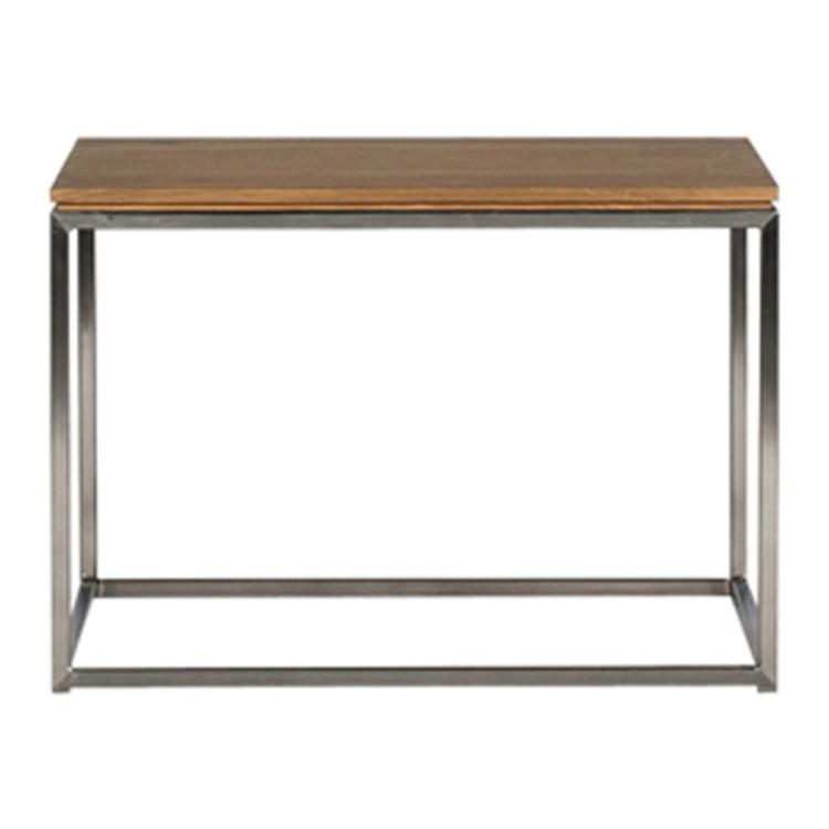 couchtisch thin eiche edelstahl. Black Bedroom Furniture Sets. Home Design Ideas