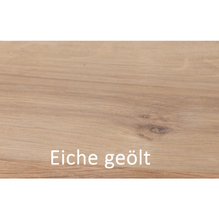 Couchtisch Thin, Eiche & Edelstahl,  hauptstadtmoebelde