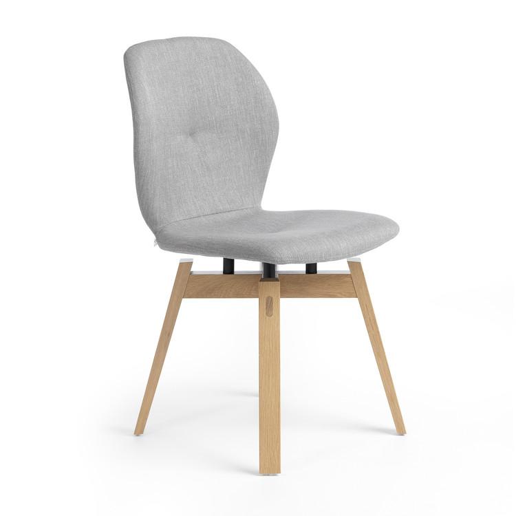 mood 91 polsterstuhl holz stoff hip hop. Black Bedroom Furniture Sets. Home Design Ideas