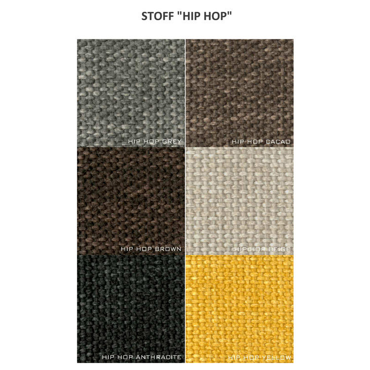 "Polstersessel Slim in Stoff ""HipHop"""