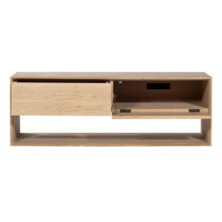 tv board nordic von ethnicraft 120 cm. Black Bedroom Furniture Sets. Home Design Ideas