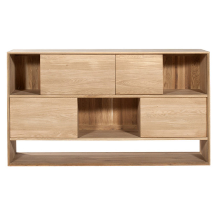 sideboard nordic mit schiebet ren 160cm breit. Black Bedroom Furniture Sets. Home Design Ideas