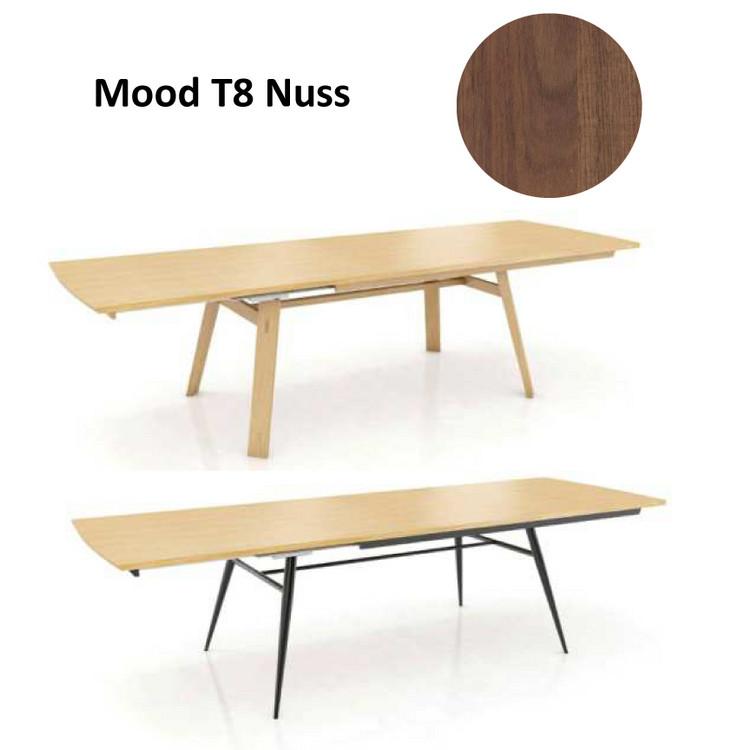 Esstisch mood t8 nussbaum ge lt for Esstisch yellow