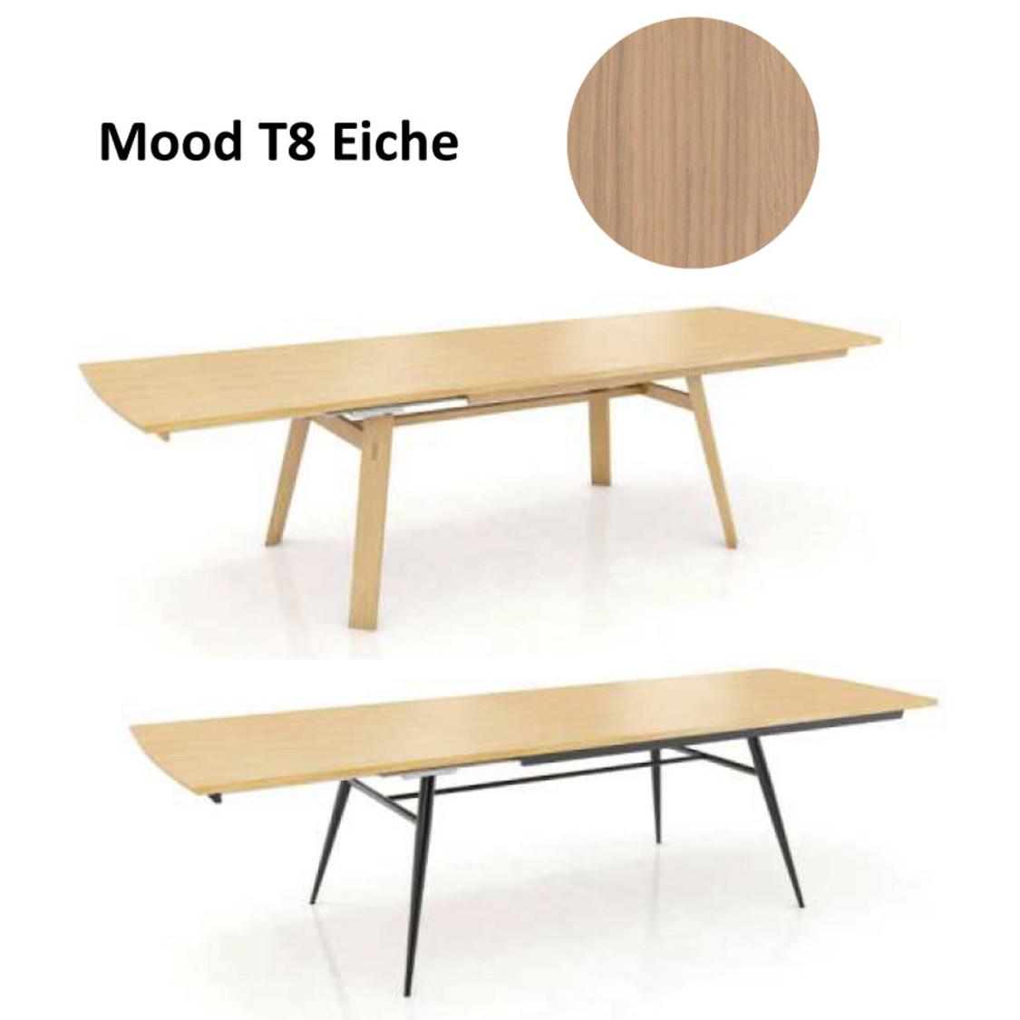 Blickfang Wildeiche Esstisch Sammlung Von Mood T8, Eiche Oder