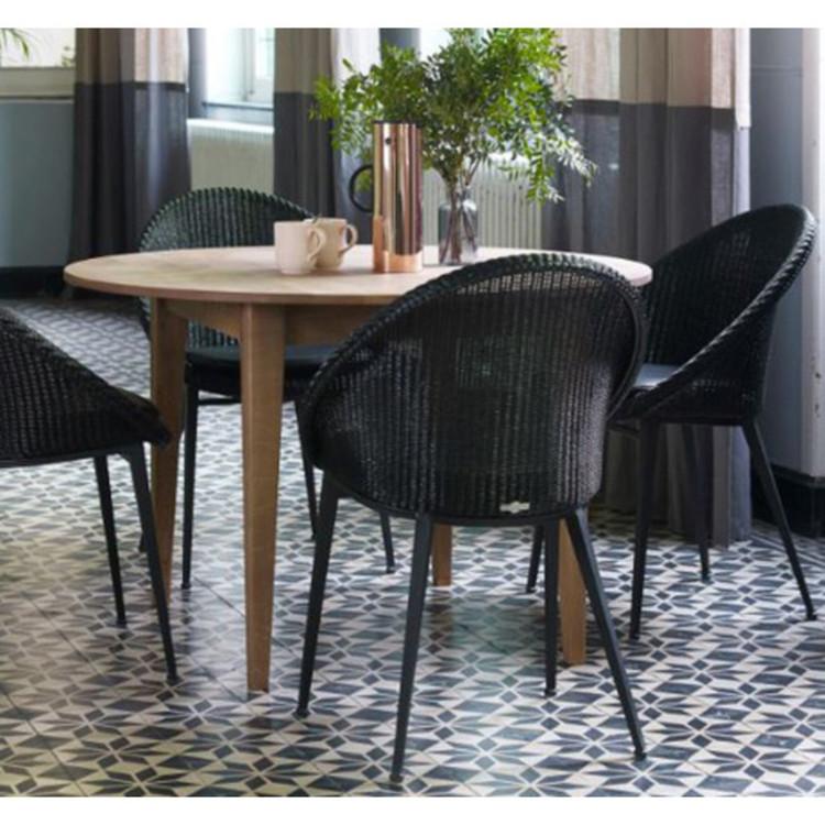 esstisch lille vincent sheppard rund ausziehbar. Black Bedroom Furniture Sets. Home Design Ideas