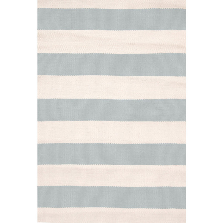 Dash & Albert, Teppich Catamaran Stripe Light Blue