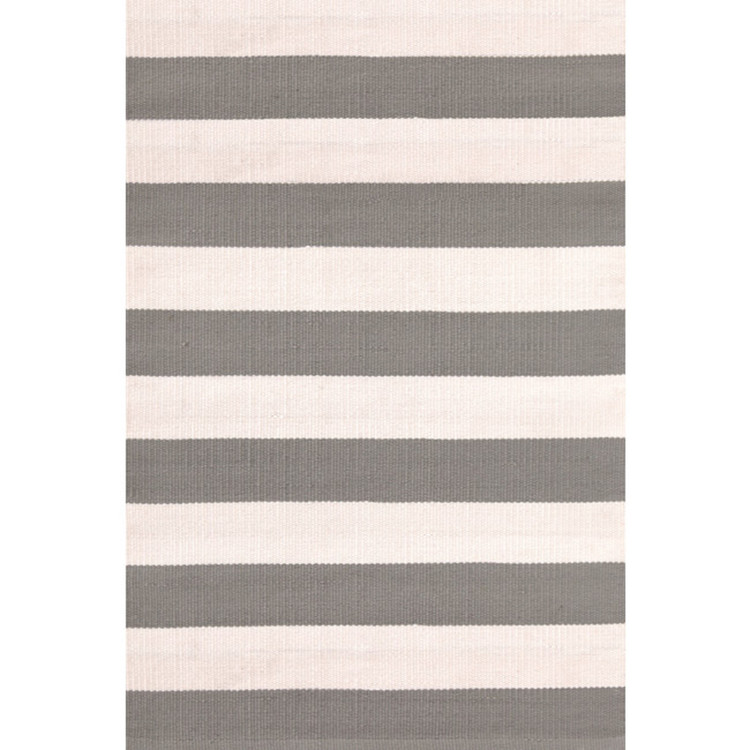 Dash & Albert, Teppich Catamaran Stripe Fieldstone