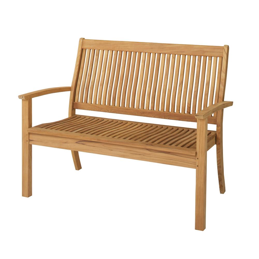gartenbank springsteen teakholz 2 sitzer. Black Bedroom Furniture Sets. Home Design Ideas