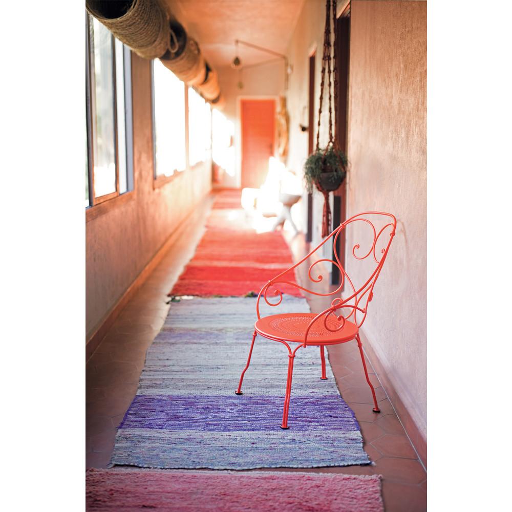 loungesessel aus eisen fermob cabriolet. Black Bedroom Furniture Sets. Home Design Ideas