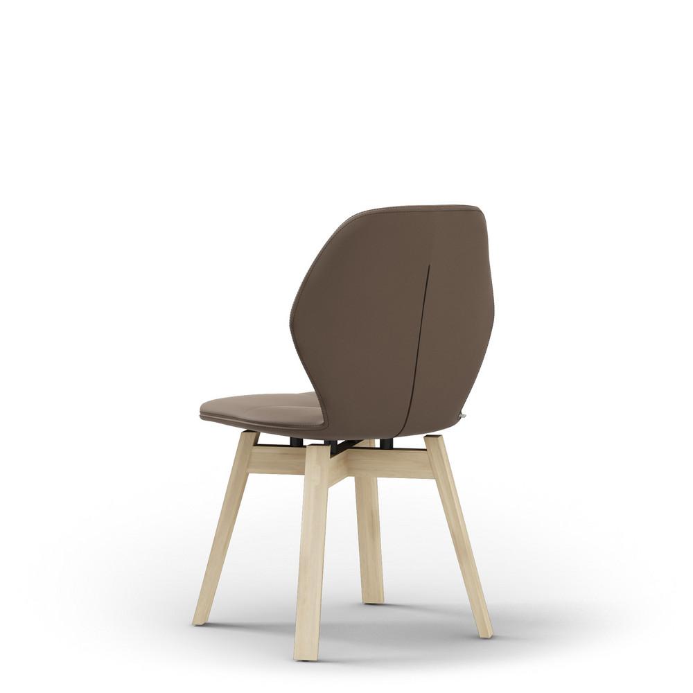 mood 91 polsterstuhl kunstleder gazelle holz. Black Bedroom Furniture Sets. Home Design Ideas