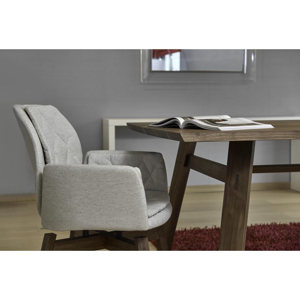 mood 96 bi polstersessel mit auflage holz. Black Bedroom Furniture Sets. Home Design Ideas
