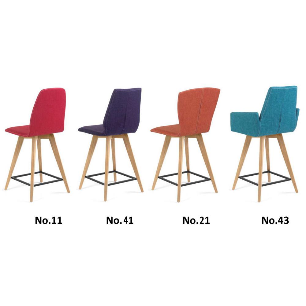 moods barstuhl sitzh he 62cm in stoff hiphop. Black Bedroom Furniture Sets. Home Design Ideas