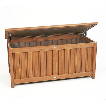 kissenbox kissentruhe gloster teak. Black Bedroom Furniture Sets. Home Design Ideas