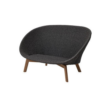 Peacock 2 Sitzer Sofa, rope dark grey