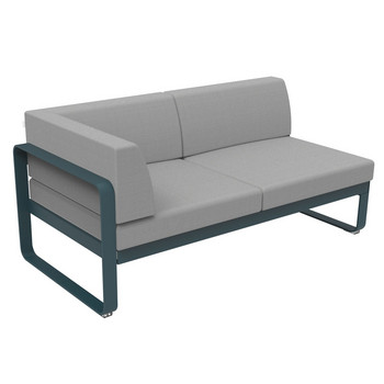 Lounge 2-Sitzer Eckmodul Links Bellevie Fermob