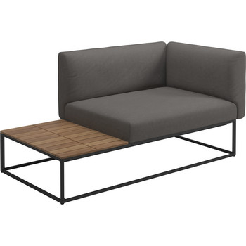 Outdoor Lounge Maya Endtisch Element, Gloster