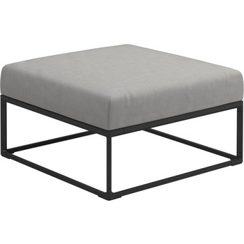Outdoor Lounge Maya Hocker Ottoman, Gloster