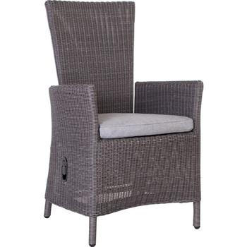 hocker sortino basaltgrau mit kissen stern. Black Bedroom Furniture Sets. Home Design Ideas