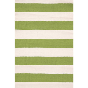 Dash & Albert, Teppich Catamaran Stripe Sprout